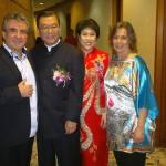 Az Elnök úrral és feleségével