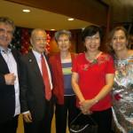 Jane Yauval és a malájziai szponzorokkal