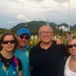 Olasz barátainkkal Langkawin