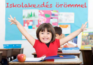 iskolakezdés örömmel